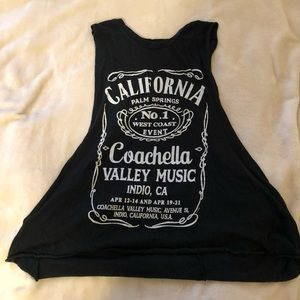 Coachella graphic tee